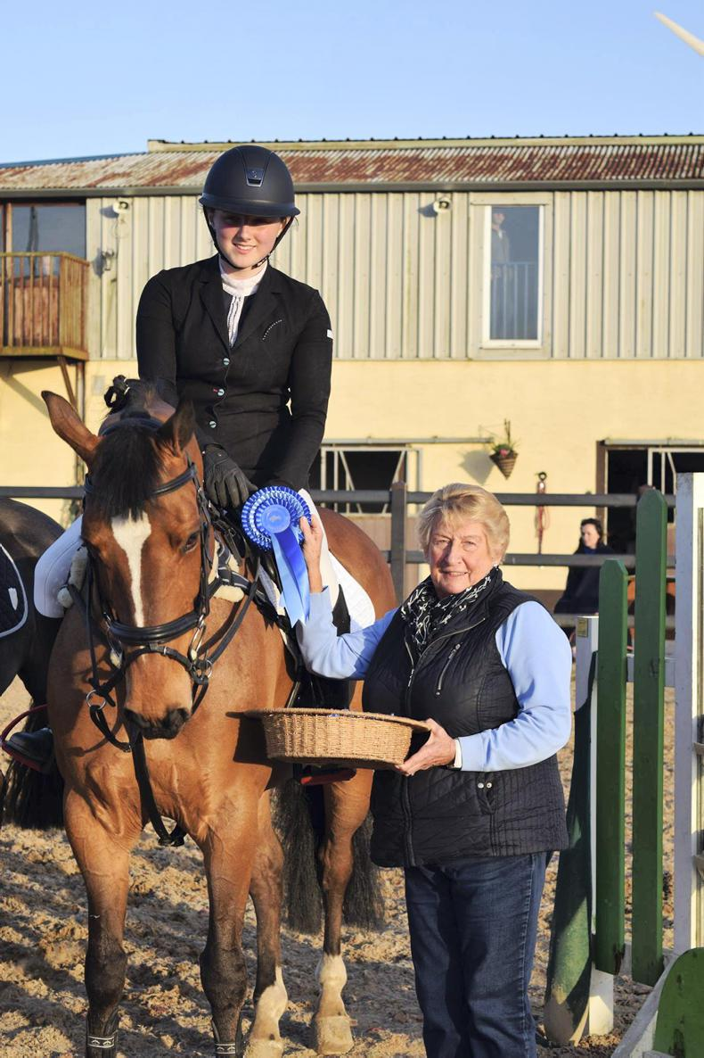 AROUND THE COUNTRY:  Young riders vye for the ribbons