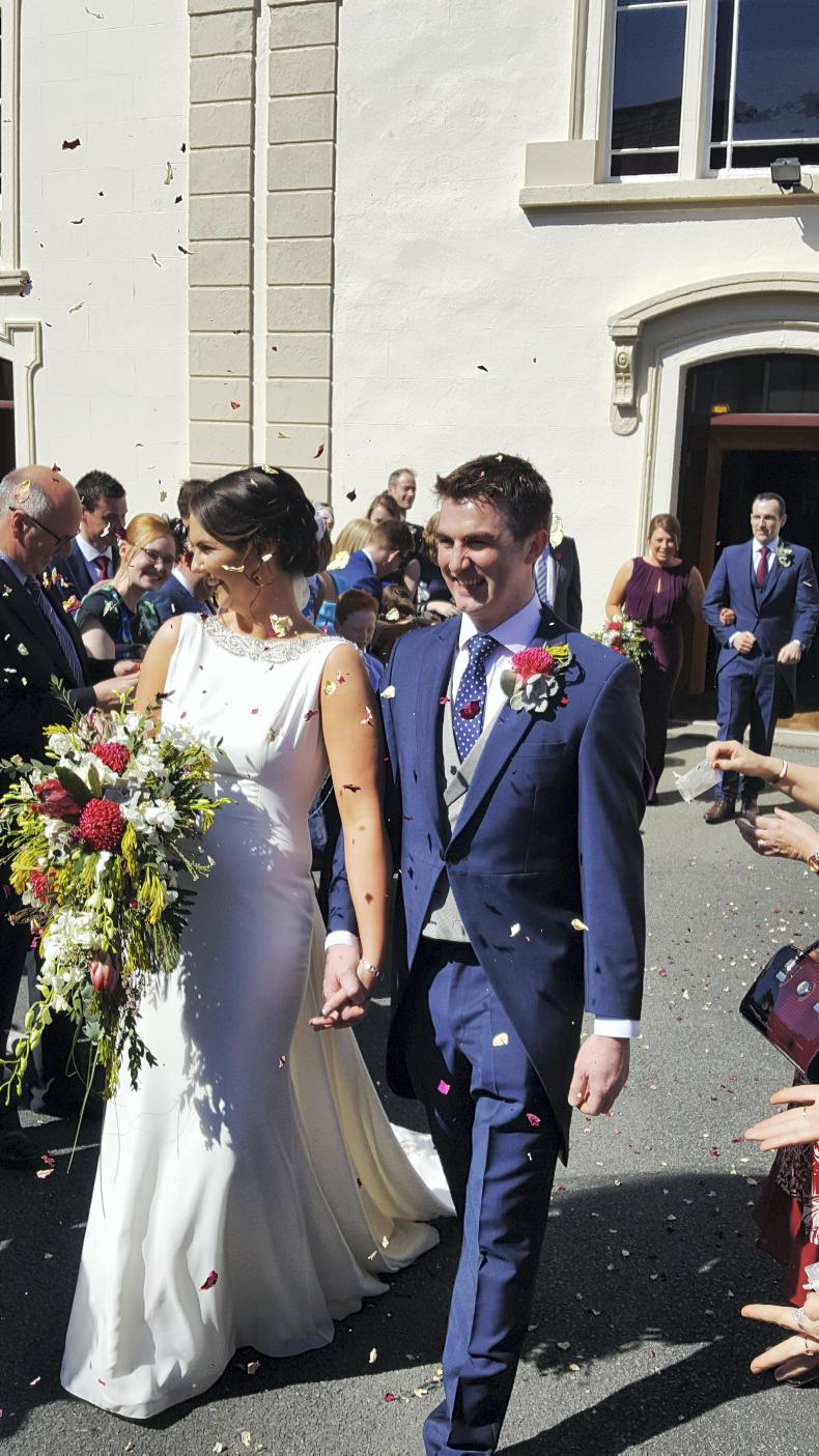 MARGIE McLOONE: Sun shines for Ruth and Steven
