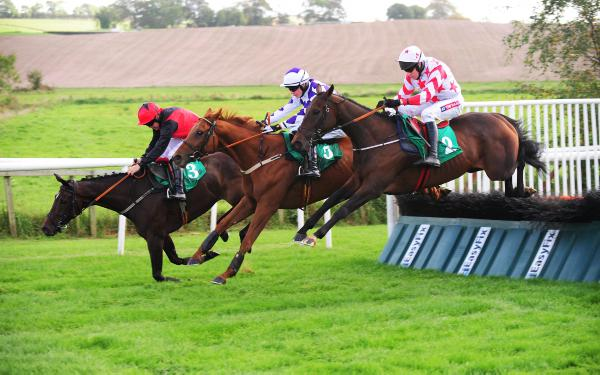 Sun shines on Elliott with Downpatrick treble