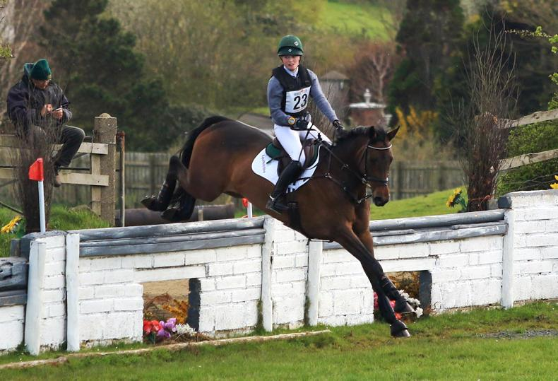 EVENTING: Haugh kept busy at Maddybenny