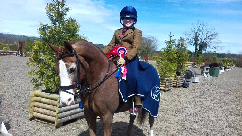 PONY TALES:  Mia cleans up at Spruce Lodge!