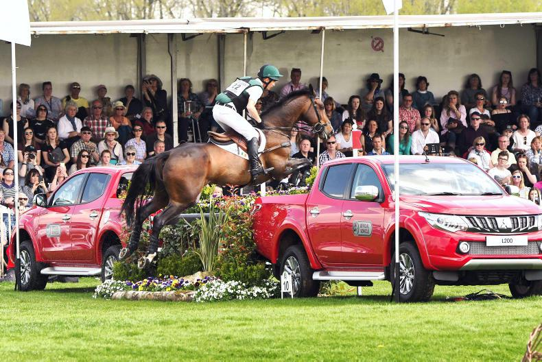 Eighth place for Padraig McCarthy at Badminton Horse Trials
