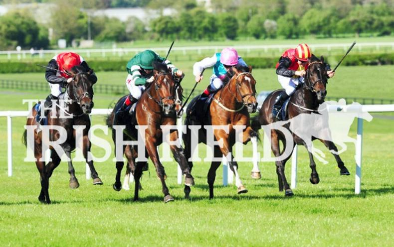 Lightening Quick returns with Athasi Stakes victory at Naas