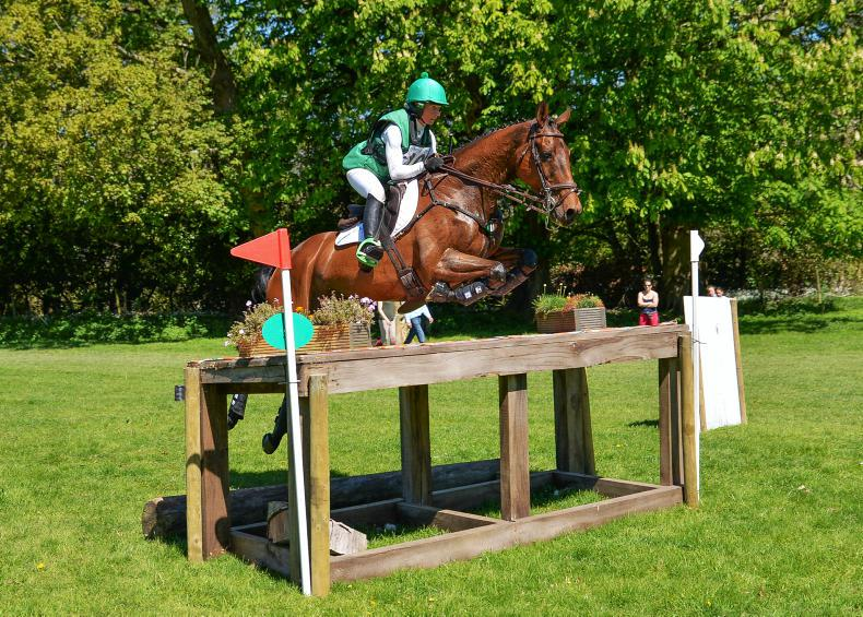 EVENTING: Perfect Rebound for delighted Ennis