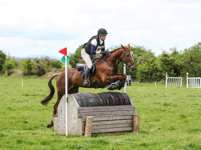 EVENTING:  HL Mrs Imp delivers for Murphy
