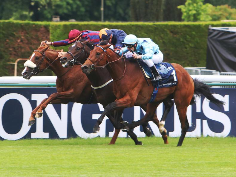 FRANCE: Olmedo swoops for classic success