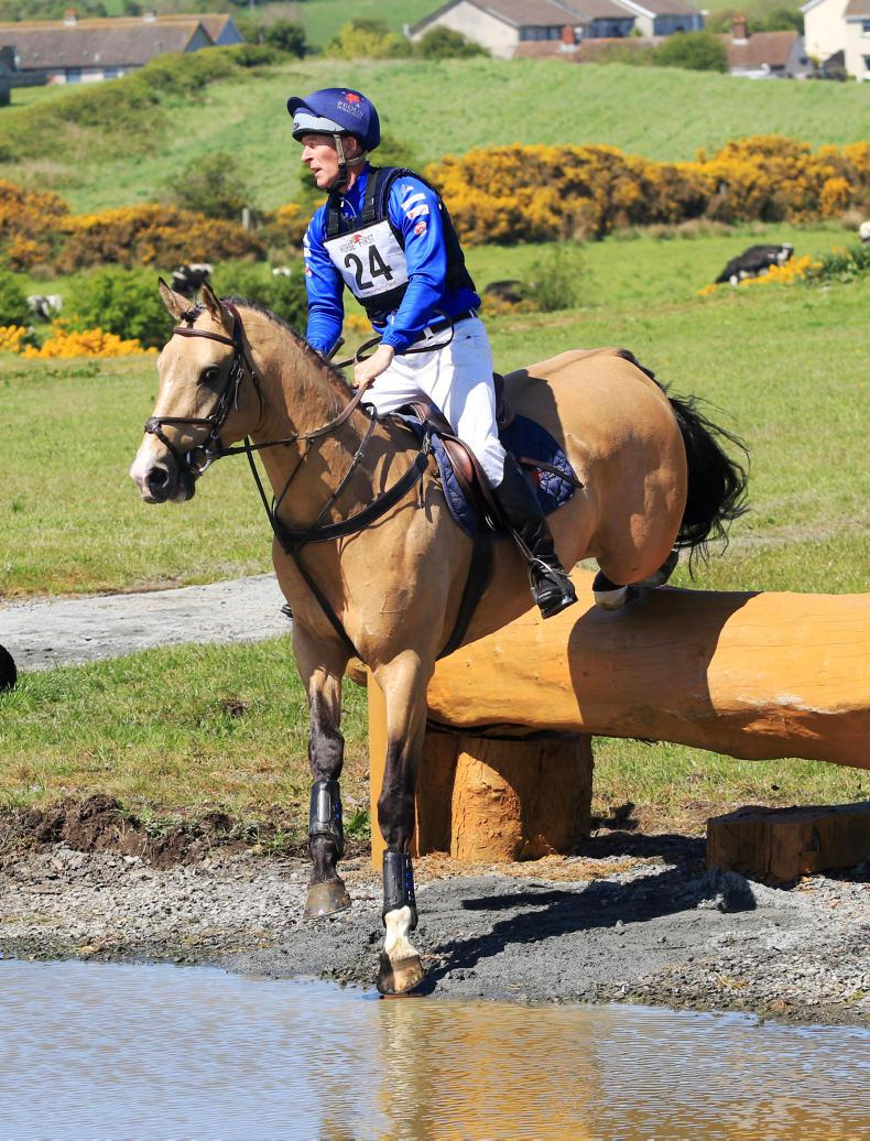 EVENTING:  Riders give the thumbs up to Kircubbin