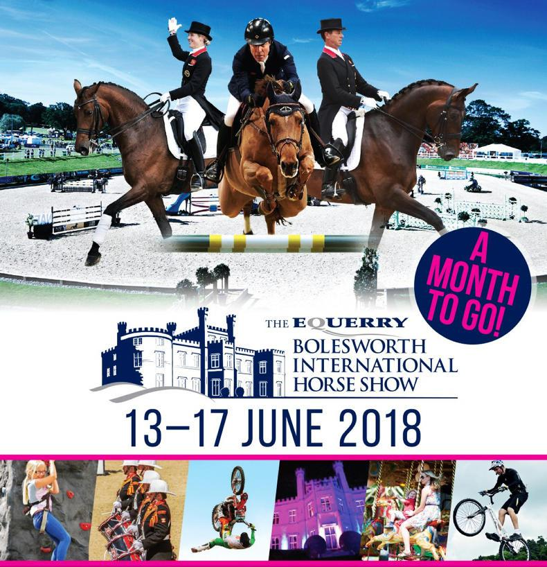 BOLESWORTH INTERNATIONAL HORSE SHOW:  Countdown on to Bolesworth