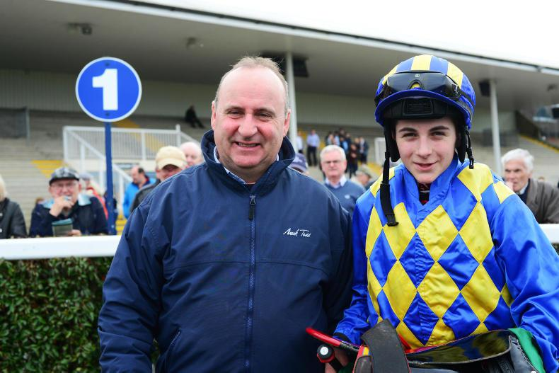 TALKING TRAINER: Andy aiming high