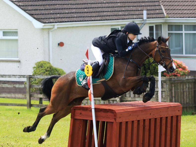 EVENTING:  Morrow quickly makes her mark