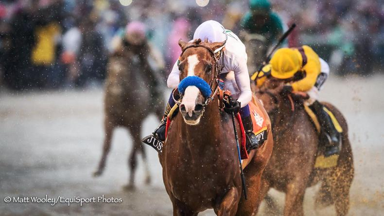 SIMON ROWLANDS: Justify's Crown in doubt