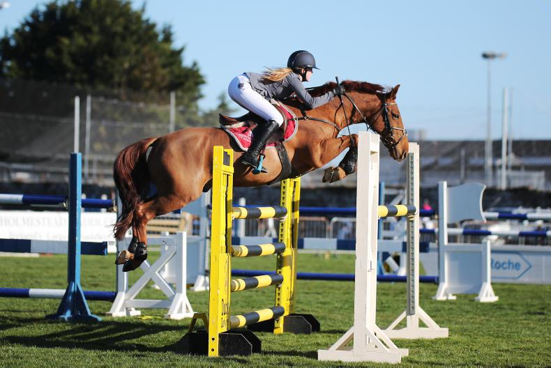 AROUND THE COUNTRY:  Young riders book their tickets to the RDS