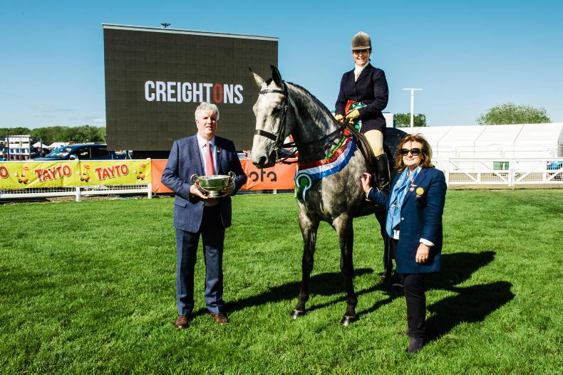 BALMORAL SHOW 2018:  Waterfall blooms as middleweight