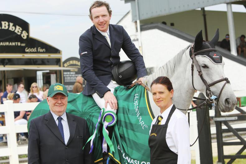 SHOW JUMPING: Broderick strikes again at 'lucky' show