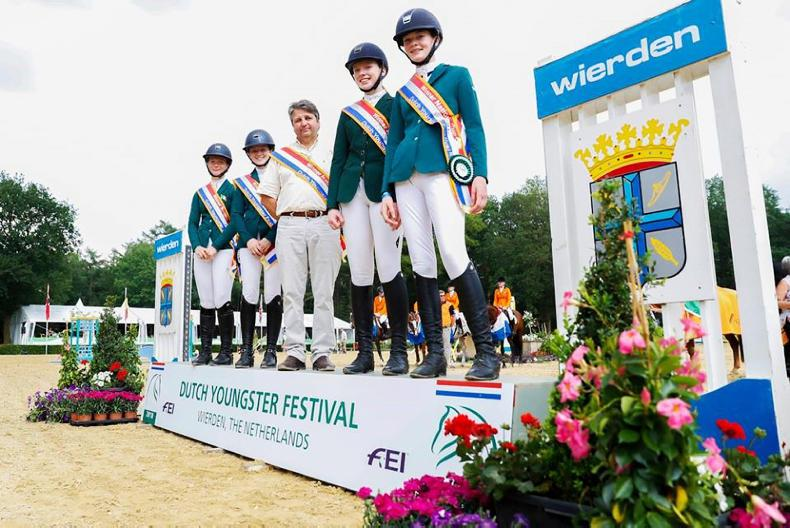 SHOW JUMPING: Girl power as Ireland pony riders win Wierden Nations Cup