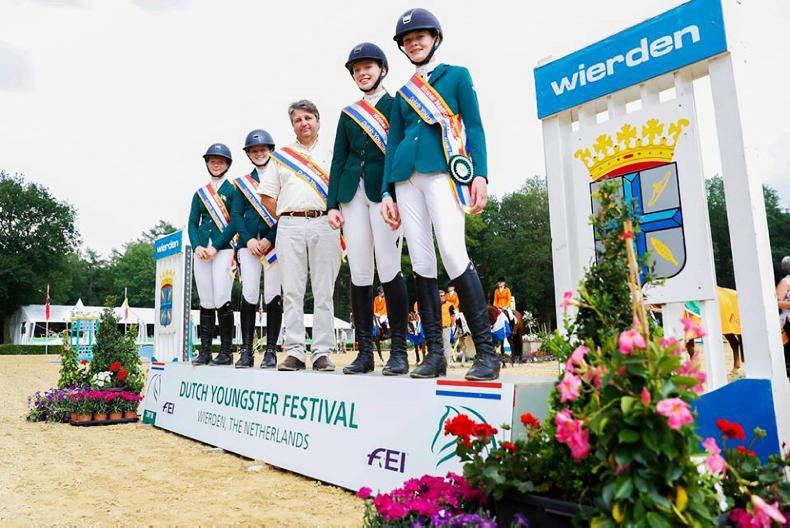 NEWS: Girl power as Irish team claim Nations Cup