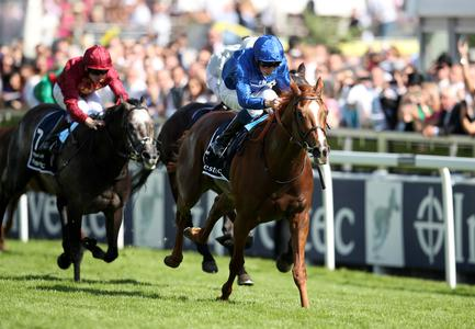 Mighty Masar delivers Derby glory for Godolphin
