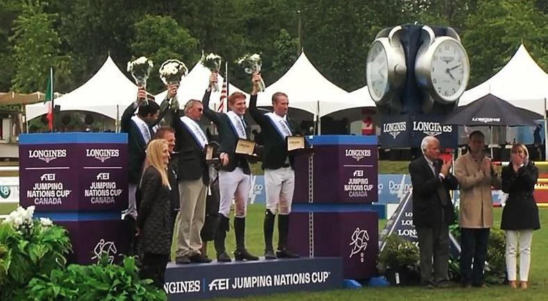 Victorious Ireland land second Longines FEI Nations Cup of the weekend