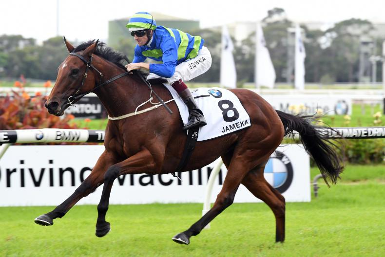 AUSTRALIA: Jameka tops Magic Mares