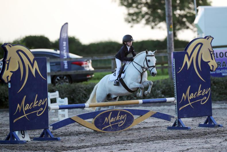 MULLINGAR INTERNATIONAL 2018:  Pony riders vye for championship titles