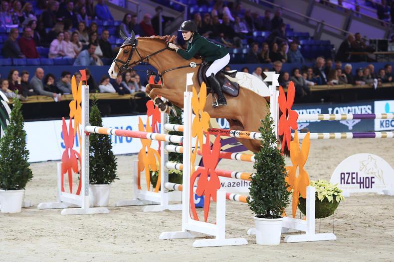 INTERNATIONAL: Female pony riders dominate