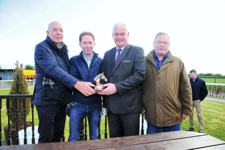 THE OWNER: Killian McDonnell, Jim Hughes and Phelim McGuinness