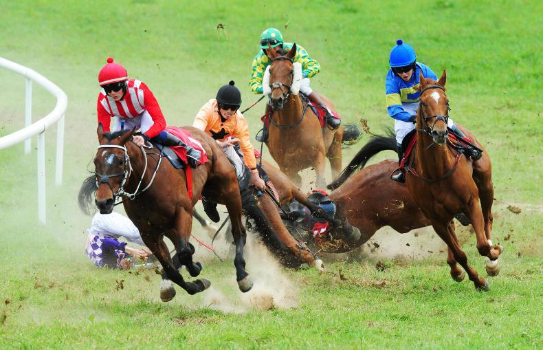 HORSE AND PONY RACING: McGuane making the running