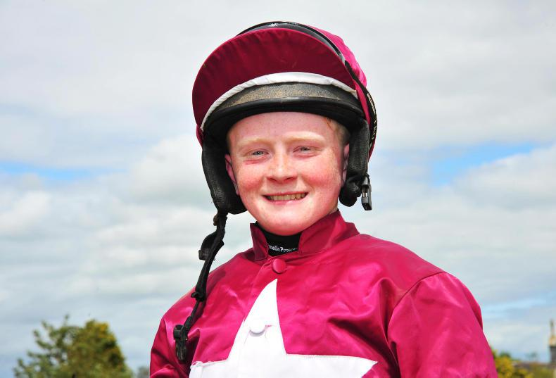 HORSE AND PONY RACING: Sam and Dylan share riding honours