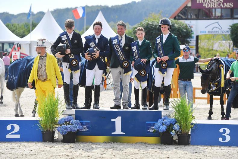 INTERNATIONAL: Pony riders complete Nations Cup hat-trick