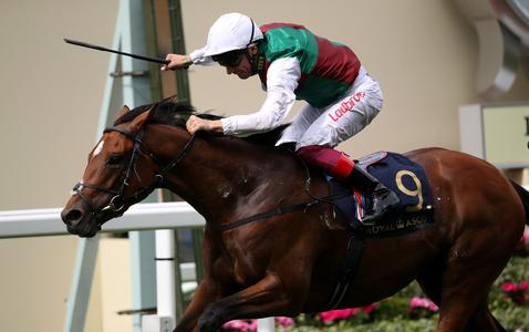 Without Parole maintains perfect record in St James's Palace Stakes