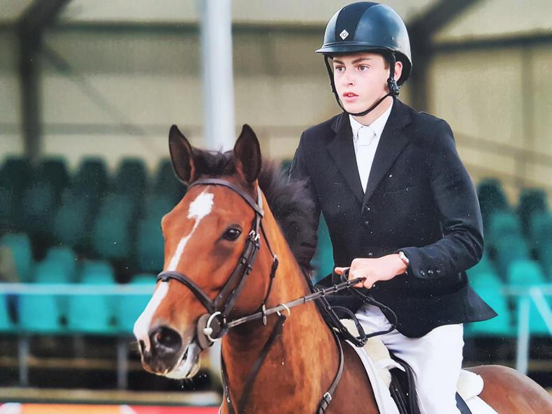 YOUNG RIDER PROFILE:  Pat Hickey
