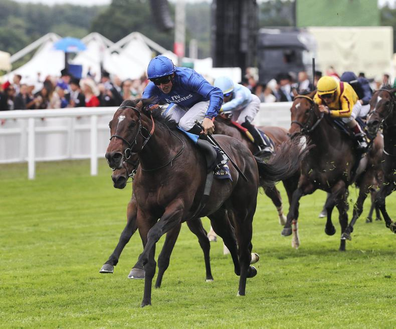 ROYAL ASCOT TUESDAY: Blue Point finishes off the field