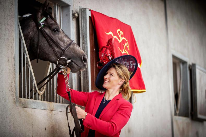 PARROT MOUTH: Think high style at the Curragh