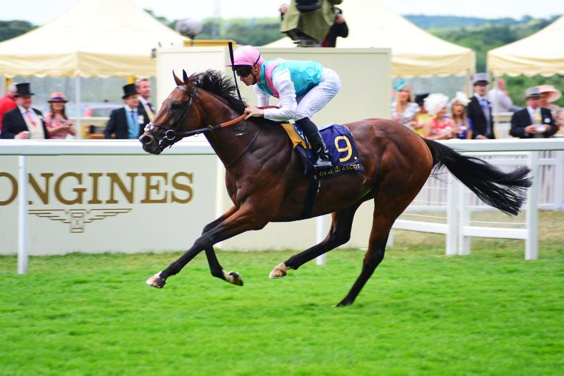 ROYAL ASCOT WEDNESDAY: Stoute's Eye finally in