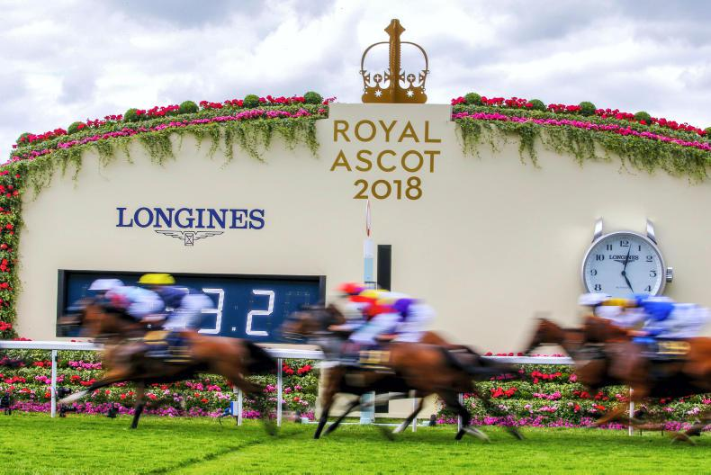 ROYAL ASCOT ON TV: It's serious stuff - only for the MEN