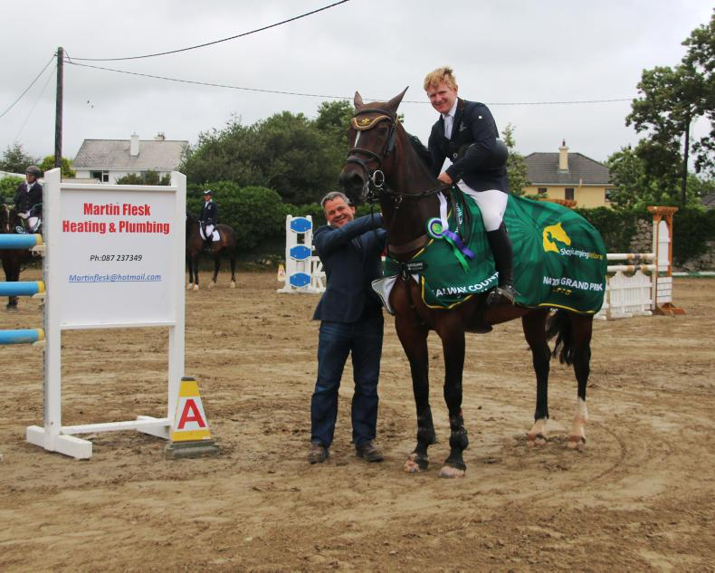 SHOW JUMPING: Galway win for Goggins