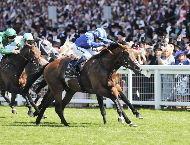 ROYAL ASCOT: Flying Eqtidaar earns Stoute's praise