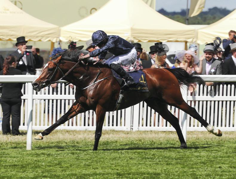 ROYAL ASCOT THURSDAY: A royal 50 for Moore