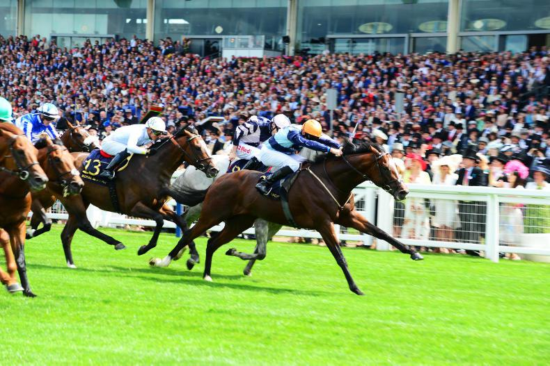 ROYAL ASCOT TUESDAY: Accidental Agent takes the spoils