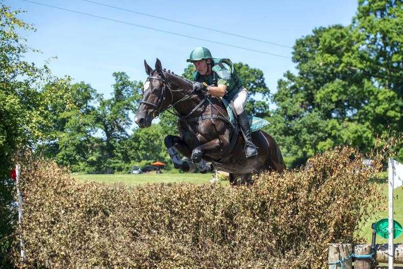 EVENTING:  Smith dominates with double