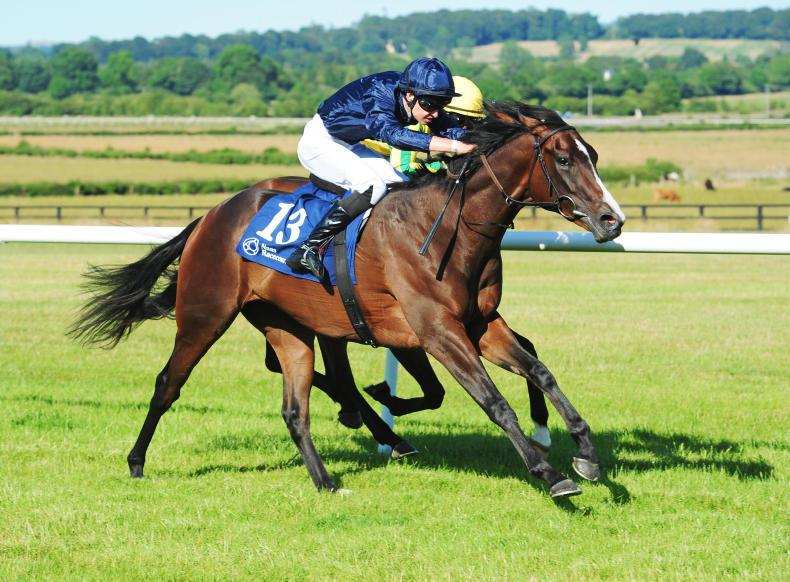 NAAS WEDNESDAY:  Listed win for improving Lily