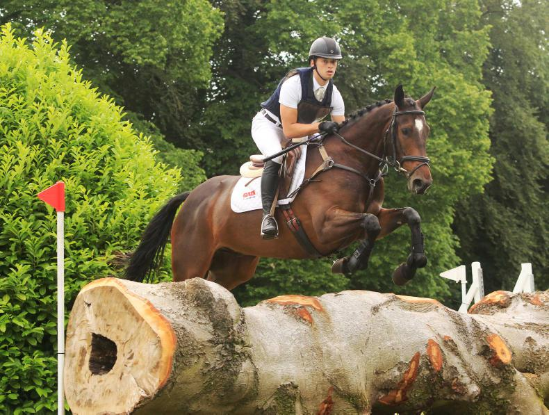 EVENTING:  Three victories on day for Cassells