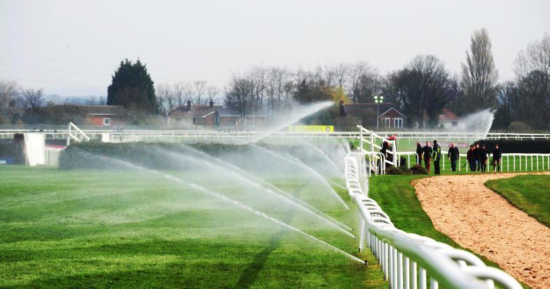 Tracks feeling heat over watering pressure