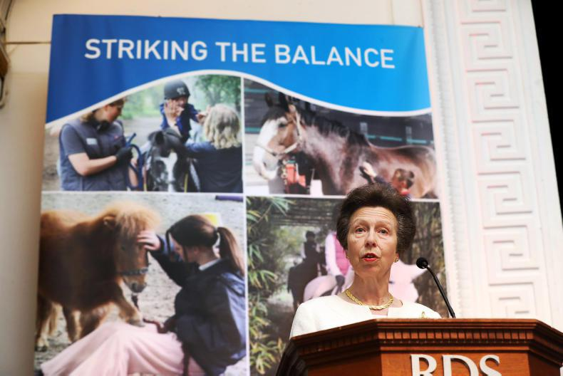 NEWS:  Princess Anne addresses HETI Congress at the RDS