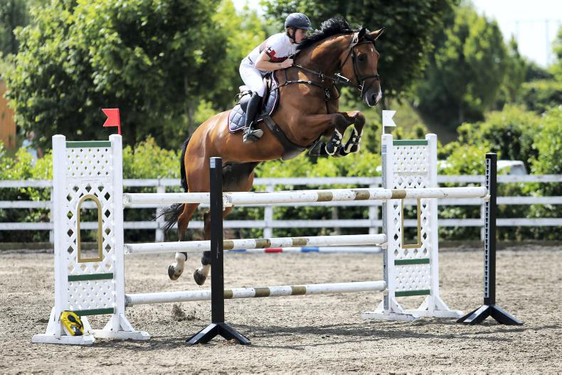 SHOW JUMPING: Two in-a-row for Pender