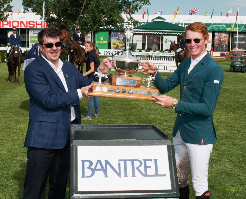 INTERNATIONAL: Irish feature at Spruce Meadows