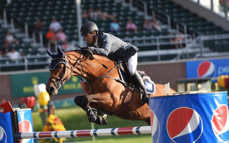 Five-star win for Conor Swail at Spruce Meadows
