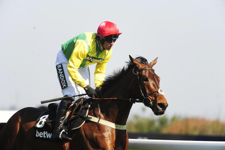 Death announced of top-class chaser Finian's Oscar
