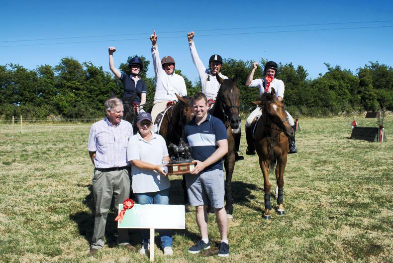 PONY TALES:  Cup joy for Wexford Hunt team