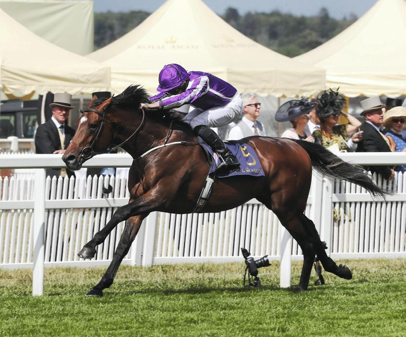 VIDEO: Kew Gardens makes it a Group 1 double for O'Brien and Moore